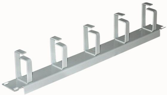 Кабельный органайзер 19, серый горизонтальный 1U, NT CO-H G цмо органайзер кабельный горизонтальный гко о 4 62 с окнами 19 1u 4 кольца серый