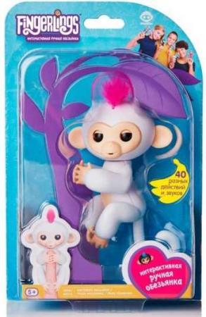 Интерактивная обезьянка София белая 12см fingerlings 3763m интерактивная обезьянка шугар белая 12 см