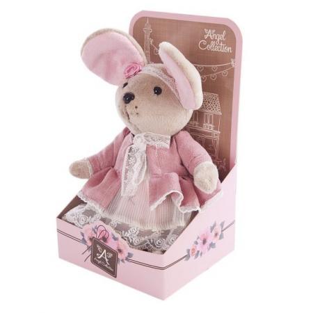 Мышка шарнирная Lady mouse Розочка