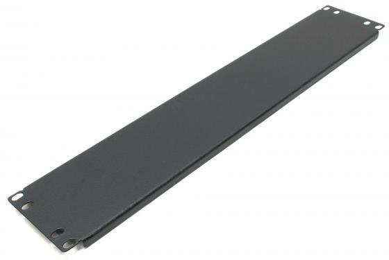 Фальшпанель - заглушка 19 2U чёрная, NT FPANEL 2U B