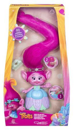Фигурка Hasbro Trolls: Поппи с супер длинными волосами C1305EU4