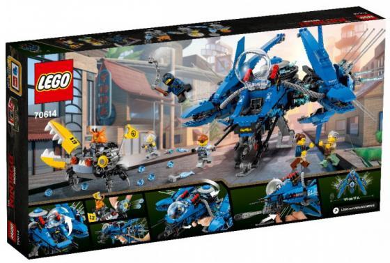 Конструктор LEGO Самолёт-молния Джея 876 элементов lego lego ninjago 70614 самолёт молния джея