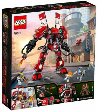 Конструктор LEGO Огненный робот Кая 944 элемента lego lego creator 31034 летающий робот