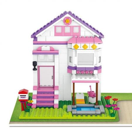 Конструктор SLUBAN M38-B0532 291 элемент b0532 sluban girl friends beauty swimming pool villa model building blocks enlighten figure toys for children compatible legoe