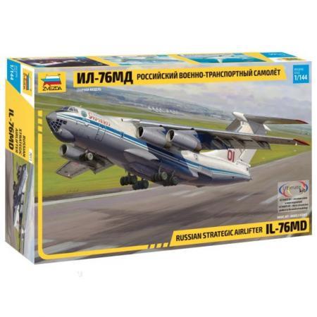 Самолет Звезда ИЛ-76 серебристый 7011 звезда самолет томагавк 7201з