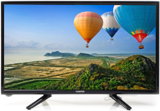 цена на Телевизор 22 Harper 22F470 черный 1920x1080 50 Гц USB HDMI VGA
