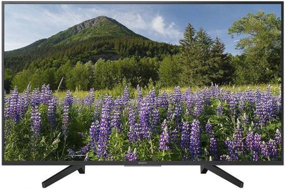 """Телевизор 43"""" SONY KD-43XF7005 черный 3840x2160 50 Гц Wi-Fi Smart TV телевизор sony kd 55xf7596br2 tv"""
