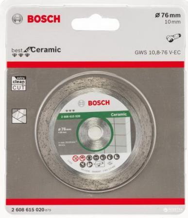 BOSCH 2608615020 Алмазный диск Bf Ceramic76-10 нож bosch advancedrotak 760