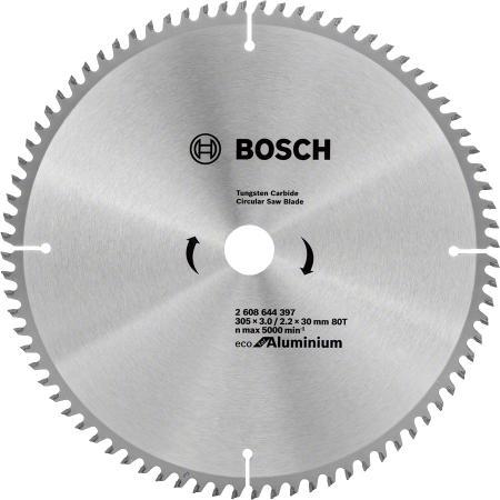 BOSCH 2608644397 Пильный диск ECO ALU/Multi 305x30-80T
