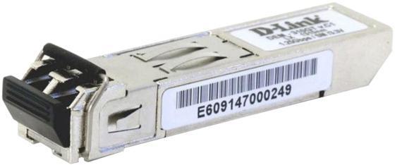 D-Link 310GT/A1A SFP-трансивер с 1 портом 1000Base-LX для одномодового оптического кабеля (до 10 км)