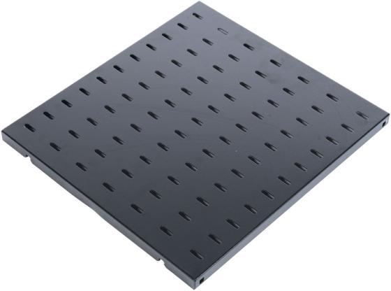 лучшая цена ЦМО Полка перфорированная, глубина 580 мм, цвет черный (СВ-58-9005)
