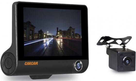 КАРКАМ D3 видеорегистратор автомобильный, 3 камеры каркам nano новинка видеорегистратор автомобильный