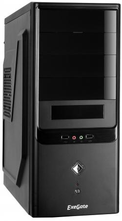 купить Корпус ATX Exegate CP-602 Без БП чёрный онлайн