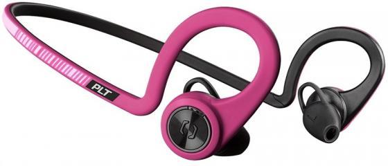 Наушники Plantronics BackBeat Fit 206003-05 розовый черный цена и фото