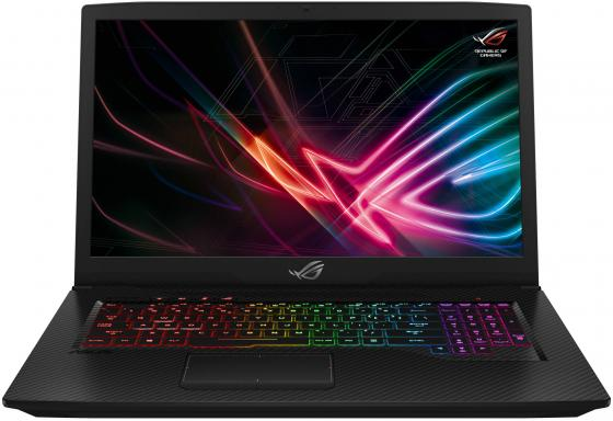 Ноутбук ASUS ROG SCAR Edition GL703GS-E5062T 17.3 1920x1080 Intel Core i7-8750H 1 Tb 256 Gb 16Gb Bluetooth 5.0 nVidia GeForce GTX 1070 8192 Мб черный Windows 10 Home 90NR00E1-M01950 ноутбук asus rog g501vw 90nb0au3 m01950 90nb0au3 m01950