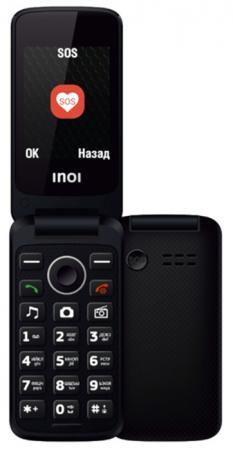 купить Мобильный телефон Inoi 247B черный 2.4 32 Мб дешево