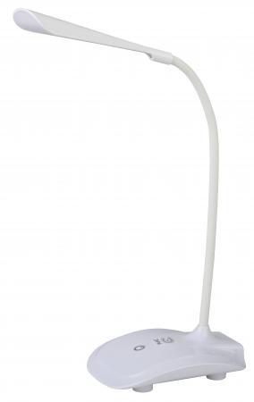 ЭРА Б0019767 Настольный светодиодный светильник NLED-428-3W-W белый {аккумулятор, три уровня яркости, цвет. температура 4000К}