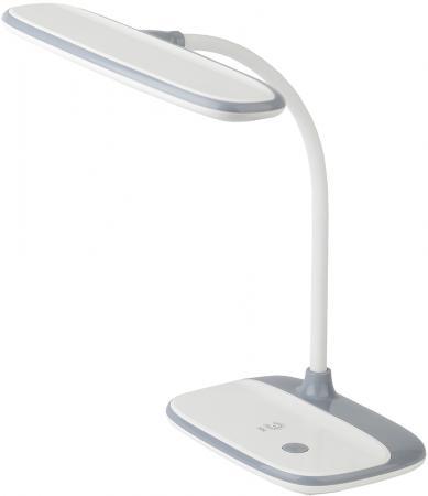 ЭРА Б0028457 Настольный светодиодный светильник NLED-458-6W-W белый {диммер яркости, цвет. температура 3000/4500/6500К}
