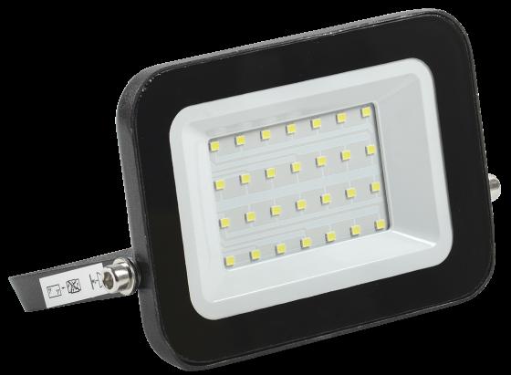 Iek LPDO601-30-65-K02 Прожектор СДО 06-30 светодиодный черный IP65 6500 K IEK шина заземления iek