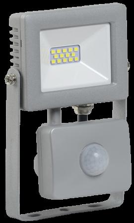 Iek LPDO702-10-K03 Прожектор СДО 07-10Д светодиодный серый с ДД IP44 IEK цены