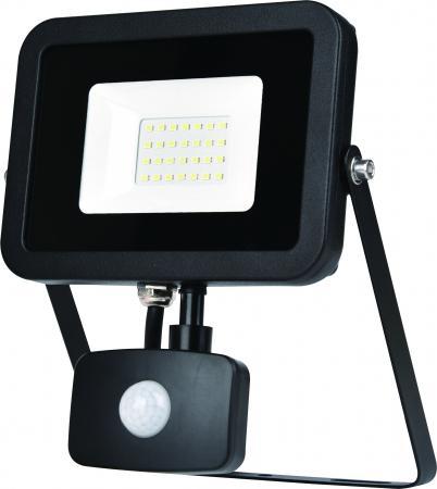 ЭРА Б0029429 Прожектор светодиодный LPR-20-4000К-М-SEN SMD Eco Slim {20W, 4000К, с датчиком движения} yeelight ночник светодиодный заряжаемый с датчиком движения