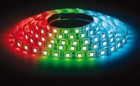 ЭРА Лента светодиодная 14,4Вт/м LS5050-60LED-IP20-RGB Красный, Синий, Зелёный {Лента светодиодная (5м/10мм)}