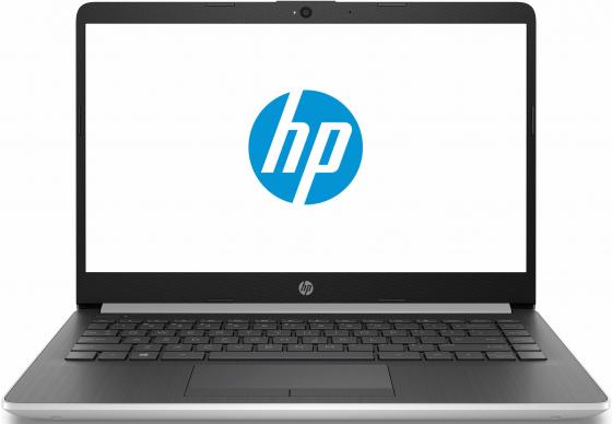 Ноутбук HP14 14-cf0002ur 14 1366x768, Intel Pentium N5000 2.7GHz, 4Gb, 500Gb, привода нет, WiFi, BT, Cam, Win10, серебр ноутбук hp 15 da0039ur 4gk88ea intel n5000 4gb 500gb 15 6 fullhd win10 gold