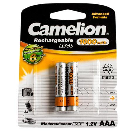 Аккумулятор 1000 мАч Camelion NH-AAA1000BP2 AAA 2 шт