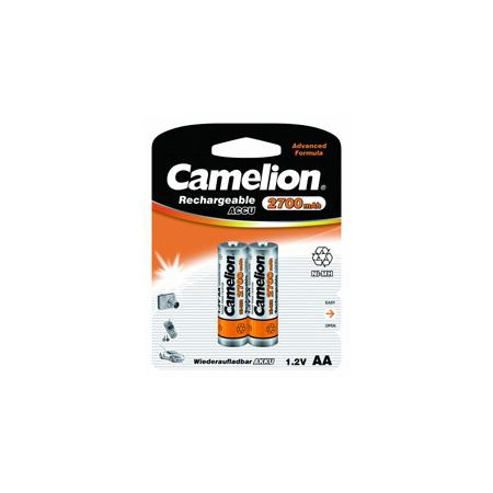 Camelion AA-2700mAh Ni-Mh BL-2 (NH-AA2700BP2, аккумулятор,1.2В)