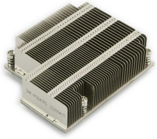 все цены на Supermicro SNK-P0047PD 1U {Socket LGA2011/2011-3 (Square ILM, Intel Xeon E5-2600}