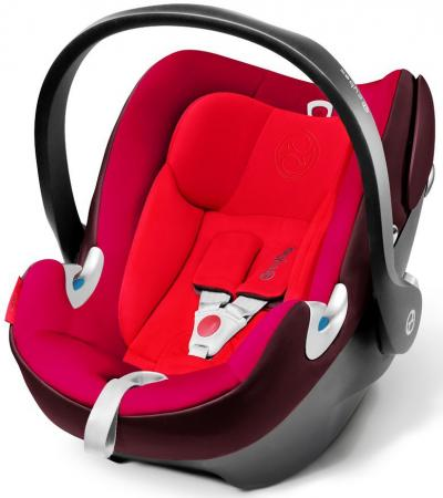 Автокресло Cybex Aton Q (mars red 2) автокресло cybex cloud q fe butterfly