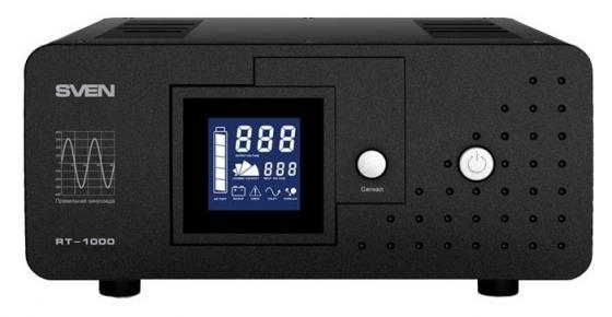 SVEN Источник бесперебойного питания SVEN RT-1000 sven cd 860