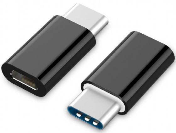 Адаптер microUSB Type-C Cablexpert A-USB2-CMmF-01 черный набор инструмента cablexpert tk pro 01