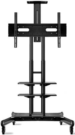 Фото - Мобильная стойка ONKRON TS1881 на 1 ТВ/ 55-80 портретная/альбомная ориентация черный мобильная стойка под телевизор onkron ts1551 красная