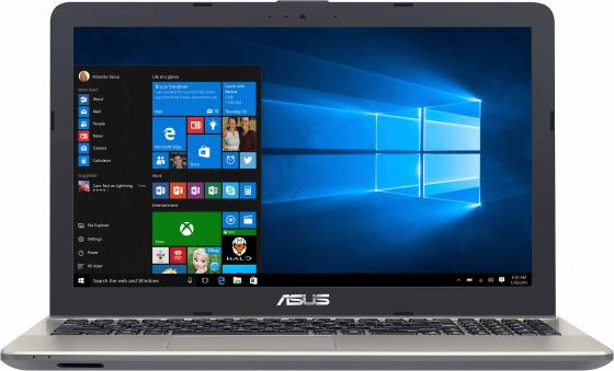 Ноутбук Asus VivoBook X541UV-GQ1425T Core i3 6006U/4Gb/1Tb/nVidia GeForce 920M 2Gb/15.6/HD (1366x768)/Windows 10/black/WiFi/BT/Cam ноутбук asus x756uq ty121t core i7 6500u 8gb 1tb dvd rw nvidia geforce 940mx 2gb 17 3 hd 1600x900 windows 10 black wifi bt cam