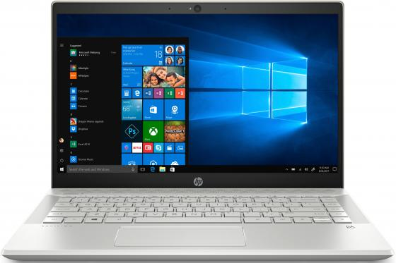 HP Pavilion 14-ce0039ur 14(1920x1080 IPS)/Intel Core i3 8130U(Ghz)/4096Mb/256PCISSDGb/noDVD/Int:Intel HD Graphics/war 1y/Pale gold/W10 hp pavilion g4 1119tx laptop lcd screen 14 0 wxga hd led diode substitute replacement lcd screen only not a laptop