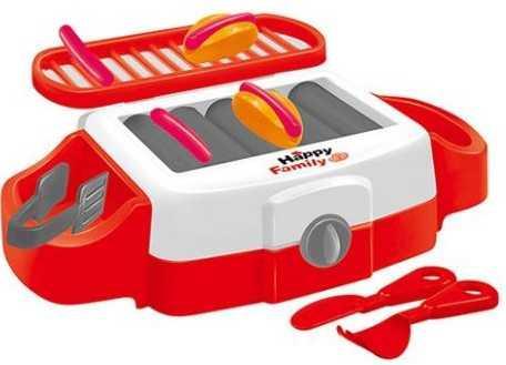 Плита Наша Игрушка Счастливая семья со звуком и светом 101015212 игрушка микрофон со светом и музыкой