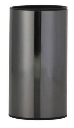Стакан AXENTIA Bologna 122391 для ванной из нержавеющей стали. черная сатинированная поверхность taifu high tafuco двойной вакуумный стакан из нержавеющей стали 0 45l t 2074 symphony powder