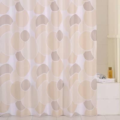 Штора для ванной комнаты IDDIS 230P24RI11 для ванной комнаты 200х240см полиэстер cream balls