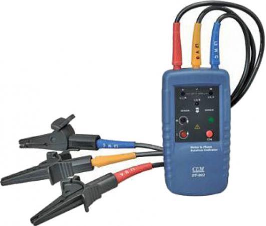 Индикатор CEM DT-902 порядка обмоток электродвигателя и чередования фаз