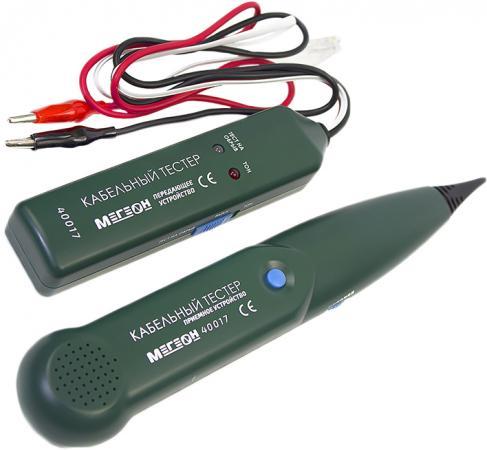 Тестер МЕГЕОН 40017 кабельный трассоискатель