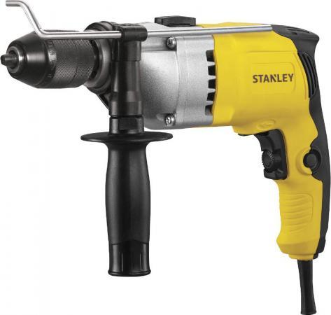 Дрель ударная STANLEY STDH8013C-RU 800Вт 22 нм 0-3000об/мин 0-54000 уд/мин. бзп 13мм 2.4кг цена