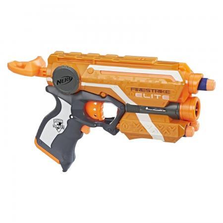 цена на Бластер Hasbro Элит Файрстрайк оранжевый 53378EU4