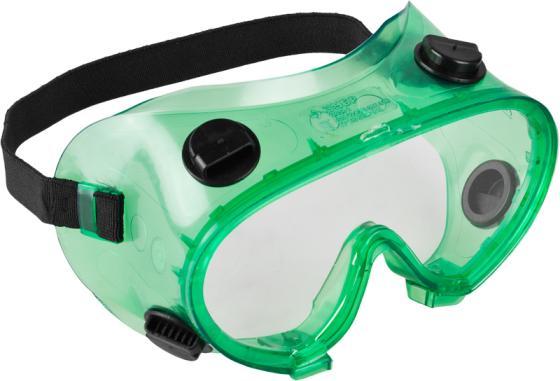 Очки ЗУБР 11026 мастер защитные закрытого типа с непрямой вентиляцией линза поликарбонатная очки stayer 2 11026 защитные самосборные закрытого типа с непрямой вентиляцией поликарбонатные