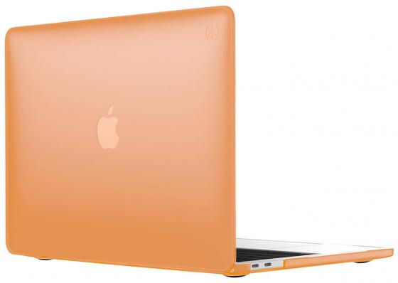 "Чехол-накладка Speck SmartShell для ноутбука MacBook Pro 13"" с Touch Bar. Материал пластик. Цвет: оранжевый. аксессуар чехол 15 0 speck smartshell для apple macbook pro 2016 15 with touch bar pink"