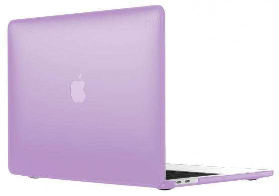 "Чехол-накладка Speck SmartShell для ноутбука MacBook Pro 13"" с Touch Bar пластик фиолетовый 110608-7355 чехол для ноутбука macbook pro 13 speck smartshell glitter пластик прозрачный 90207 5636"