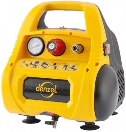 Компрессор Denzel РС 1/6-180 1,1кВт компрессор denzel рс 1 6 180 1100вт 180л мин 6л