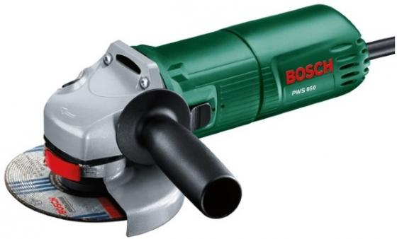 Углошлифовальная машина Bosch PWS 650 115 мм 650 Вт шлифовальная машина bosch pws 700 115