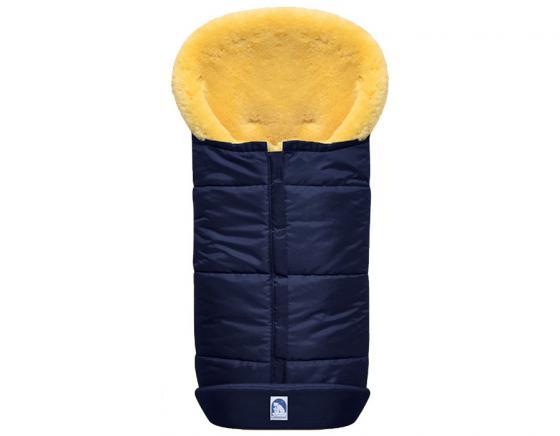 Конверт из овчины Heitmann Felle 968 Lambskin Cosy Toes (синий меланж) зимний конверт altabebe lambskin bugaboo footmuff mt2280 lp black 65