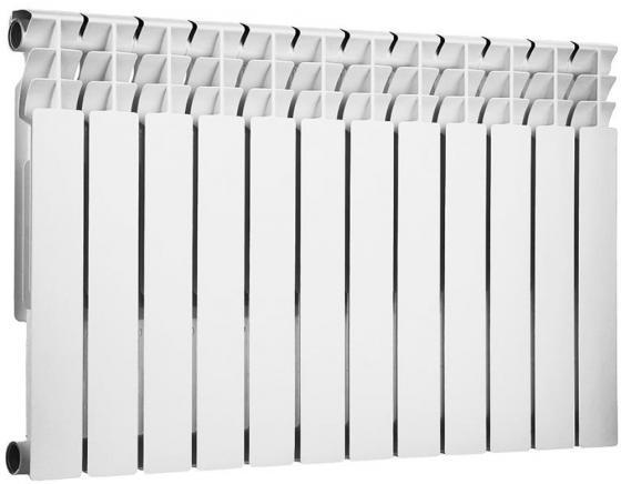 Радиатор биметаллический ROMMER Optima BM 500/78 12 секций теплоотдача 1500Вт цена